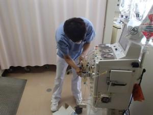 特殊血液浄化の準備