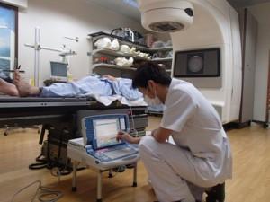 放射線治療での設定変更