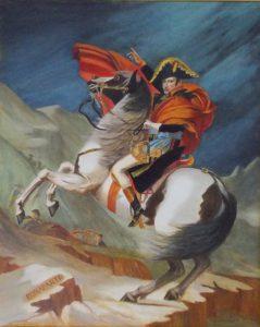 模写 ナポレオンの肖像/山口市江