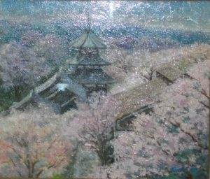 吉野(金峯山寺遠望)/新畑恭子