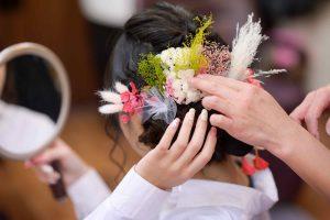 髪飾り/芦澤直也