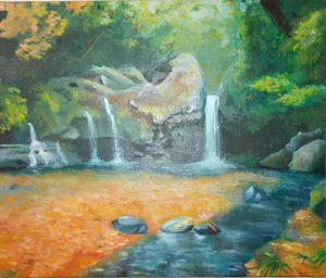 陣馬の滝/レチシア真由美