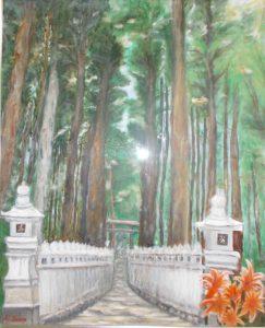 神社の杜/佐野キヨ子