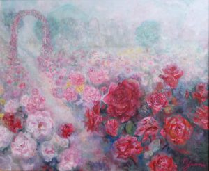 公園のバラ/伊藤由美