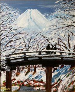 雪の花見/高野正英