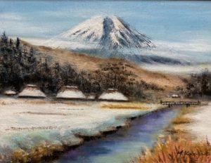 冬の忍野富士/小林基弘