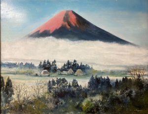 麓村赤富士/小山オサム