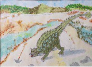 恐竜アンキロサウルス/伊藤志都代