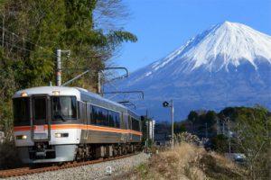 身延線と富士山/杉山大地
